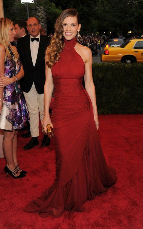 Costume Institute Gala Met Ball - May 7, 2012, Hillary Swank