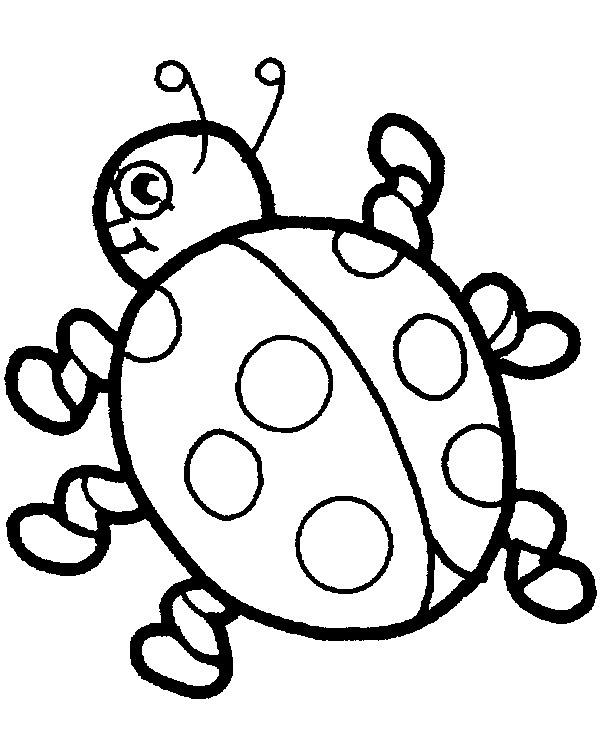 Mariquita Para Niños Hd Dibujoswikicom