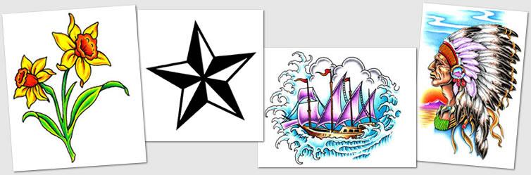 Tattoo Designs Symbols Nautical Star Numbers Native American
