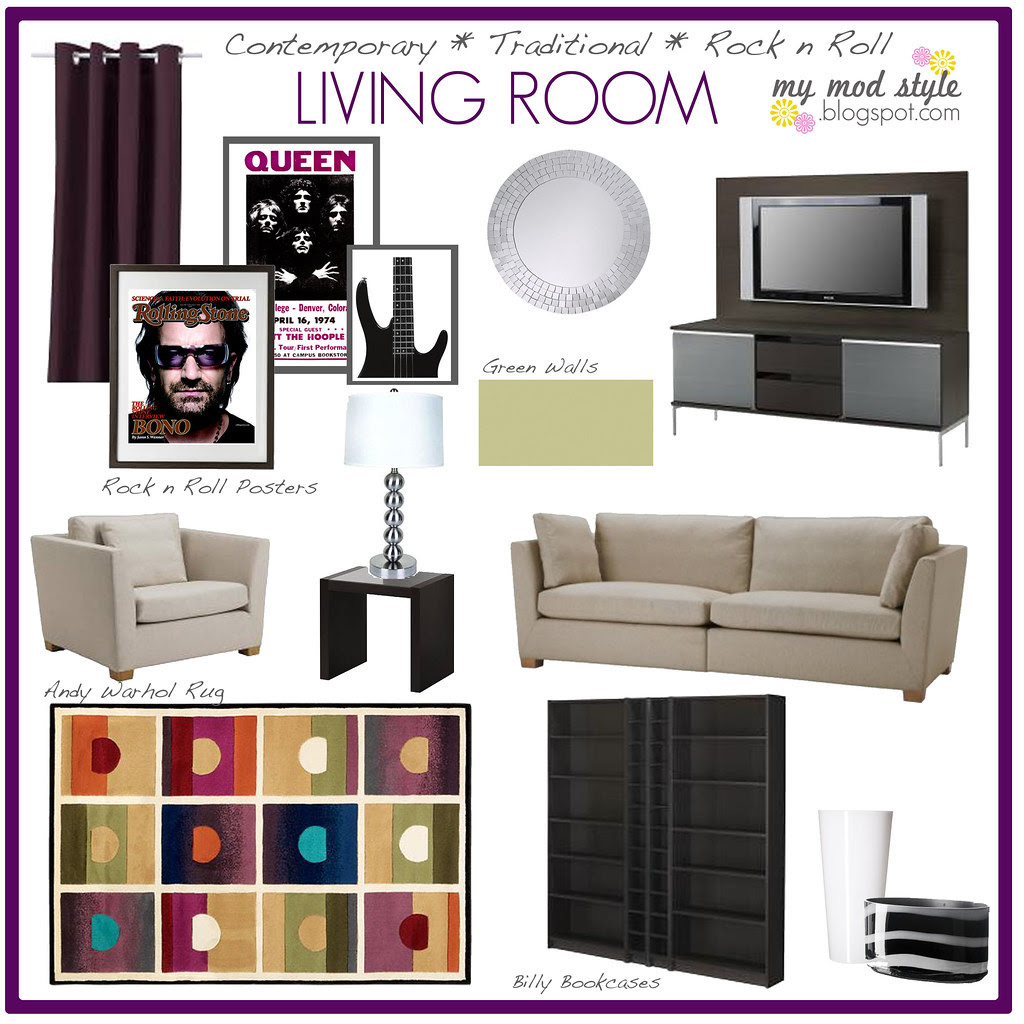 Living Room - Design for my parents