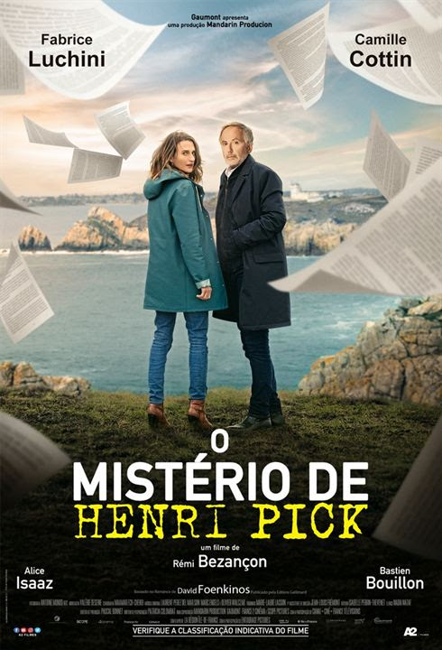 O Mistério de Henri Pick : Poster