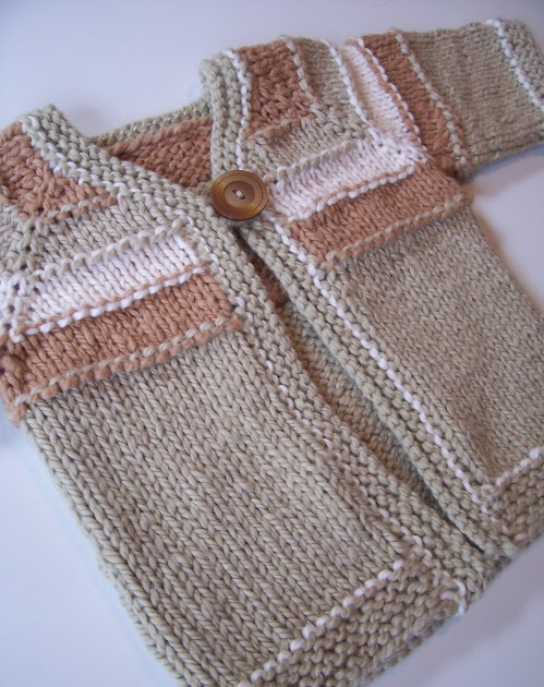 Looking for seamless top-down baby sweater pattern - Pattern