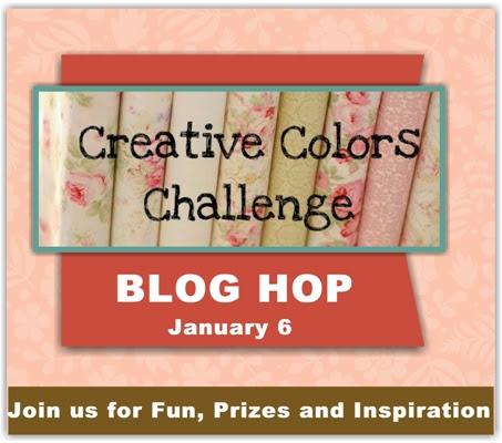 BLOG HOP Y ANIVERSARIO DE CREATIVE COLOR CHALLENGE