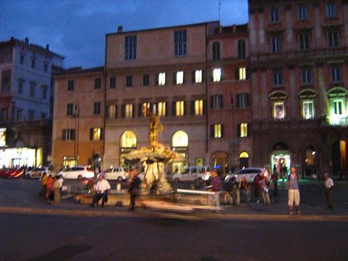 Via Veneto at night