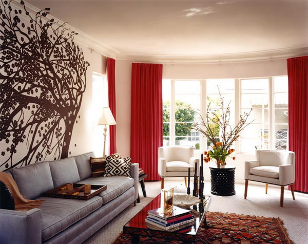 Living Room Ideas With Wall Decorations: Express Yourself While ...