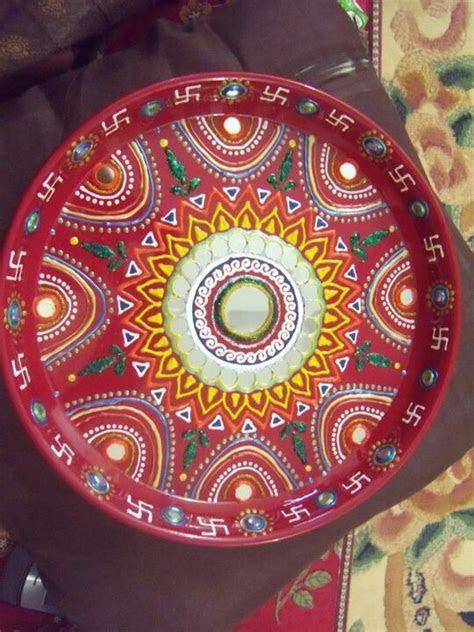 pooja thali   Inspirations   Diwali decorations, Diwali