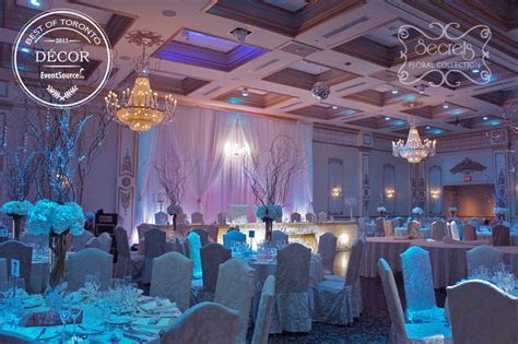 "A Winter Wonderland Wedding Reception Decoration   ""Best"