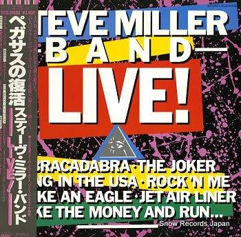 MILLER, STEVE BAND live