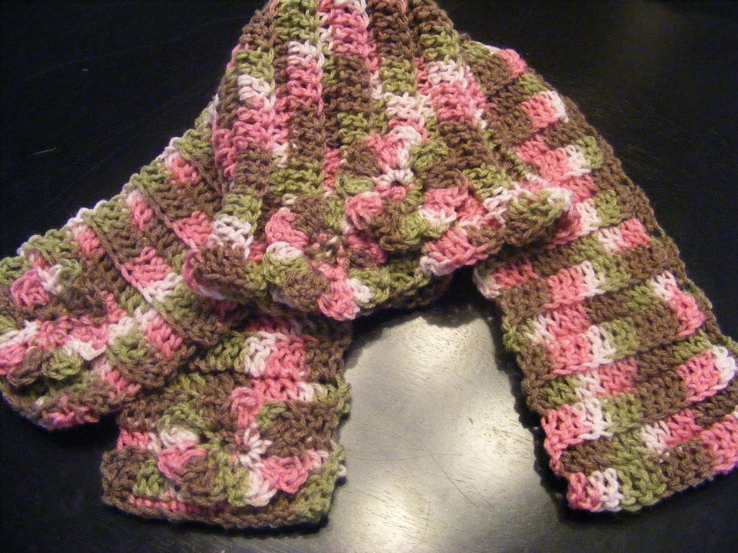 Flower Hat & Scarf Set