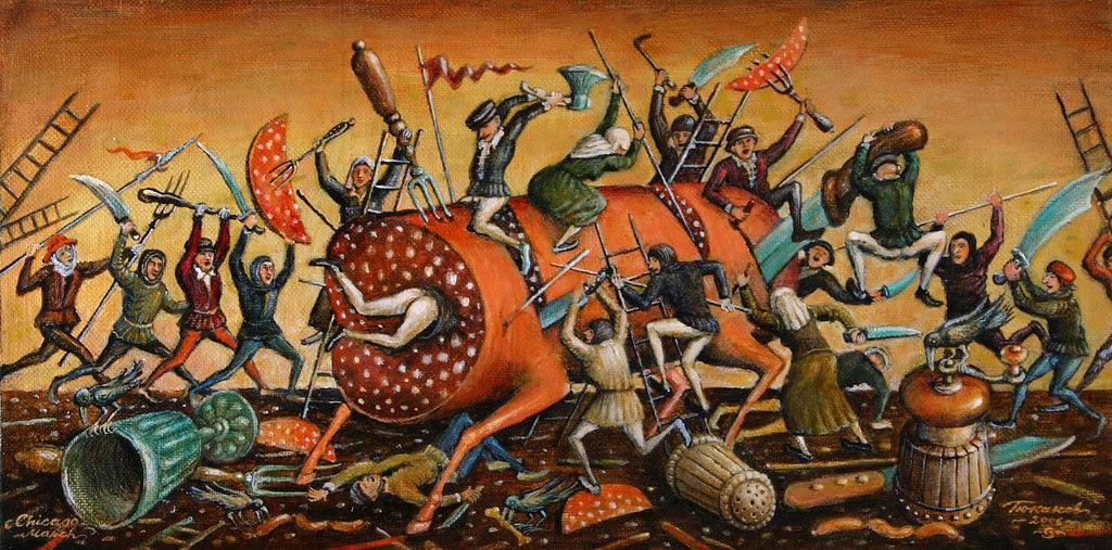 Sergey Tyukanov - Battle With Sausages-l, 2006