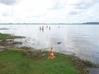 Populares resgatam lavrador afogado na Barragem do Bezerro em José de Freitas