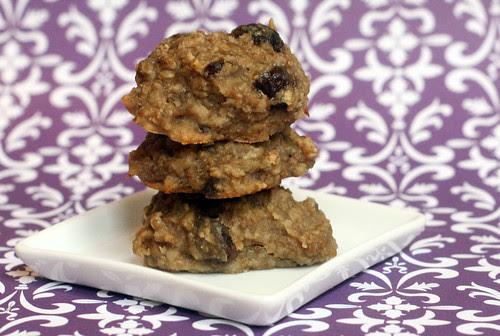 banana oatmeal raisin cookies