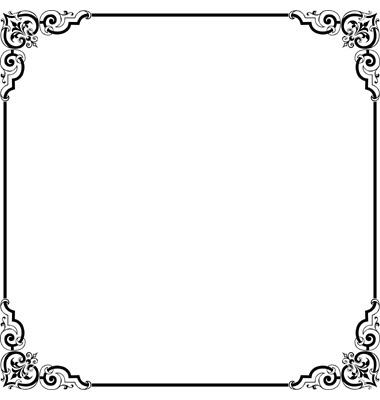 elegant border frame elegant frame vector 209421