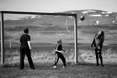 Football in Iceland by bjarkihalldors