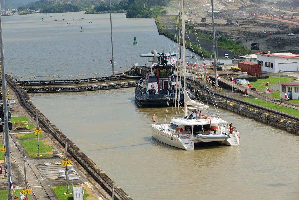 Pedro Miguel Locks, Panama Canal Cruise