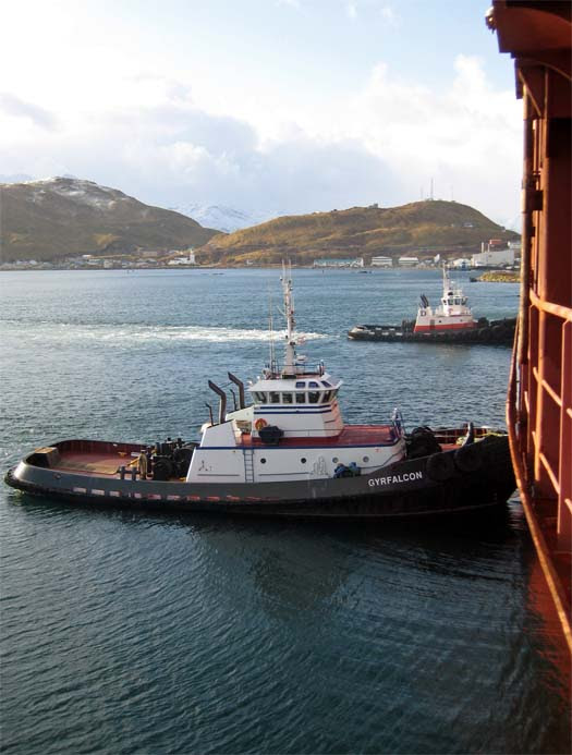 Tugs in Dutch Harbor