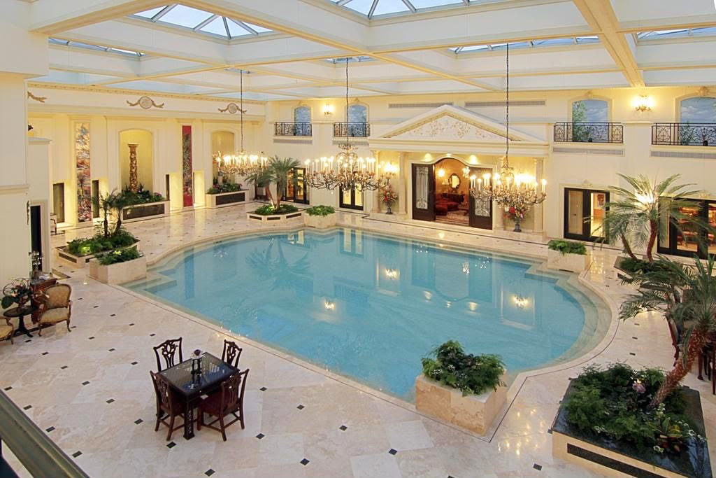 Luxury Indoor Pool Ideas_3