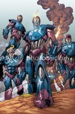Um time de Sentinelas humanos