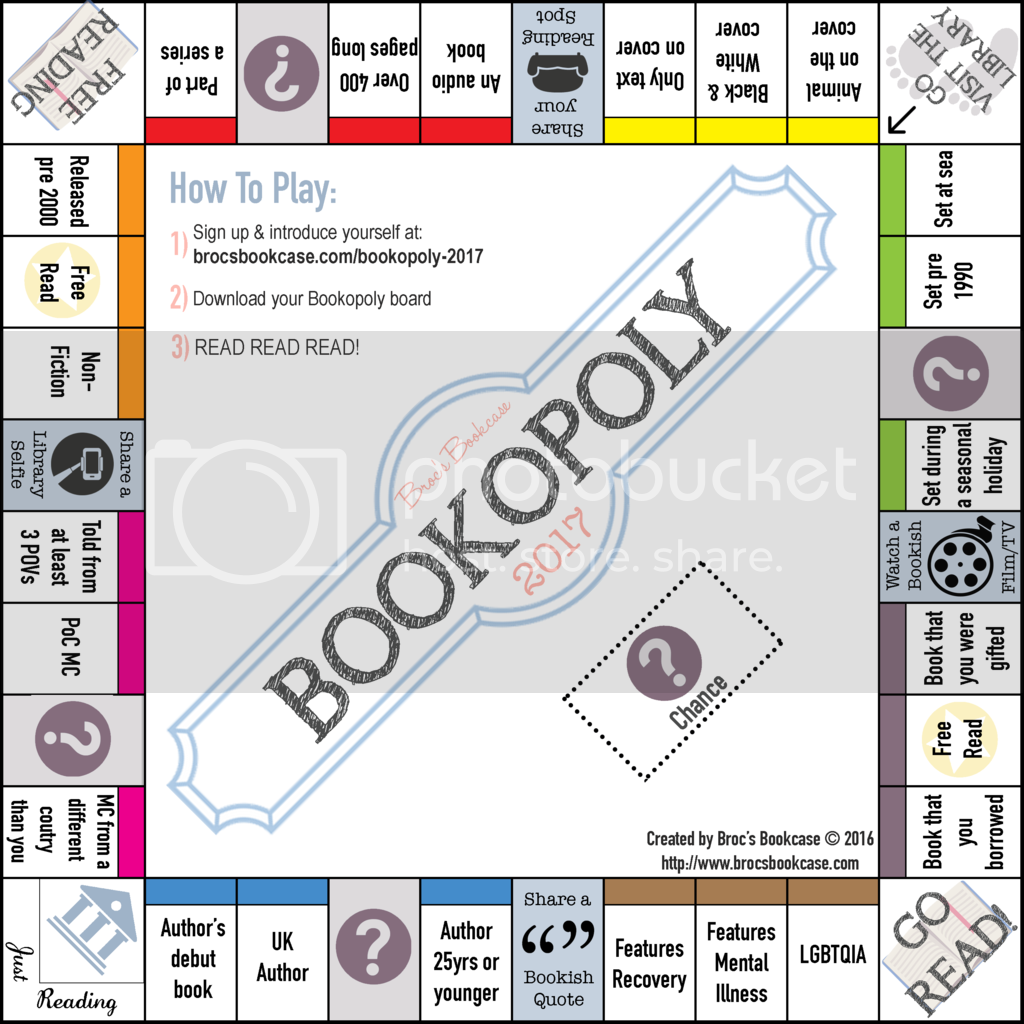 Bookopoly Reading Challenge