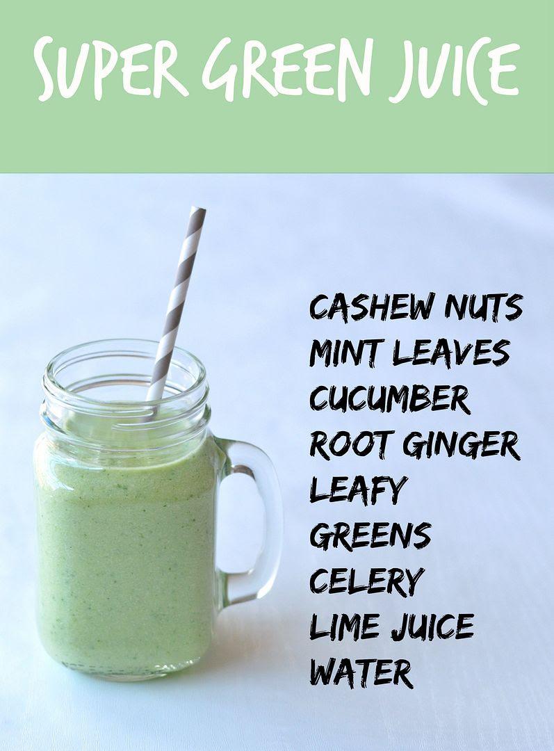 super green juice in the Nutribullet