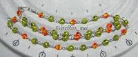 Peridot & Swarovski Crystal Necklace