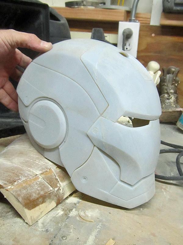 Helmet Mostly Printed