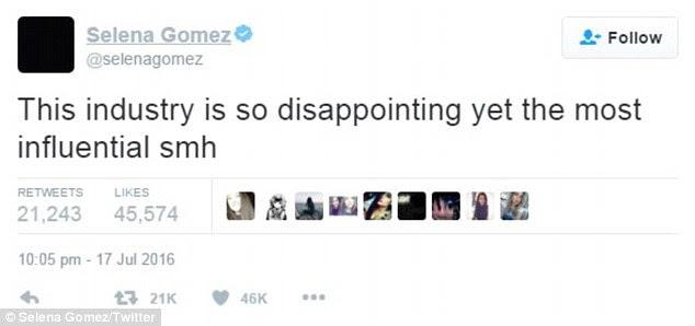 Rant: Selena não revelou o nome diretamente Kim em qualquer um dos seus tweets, mas o timing de suas palavras foi decididamente dizendo