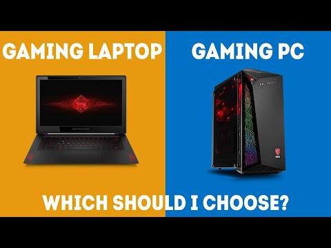 Gaming Pc Vs Laptop