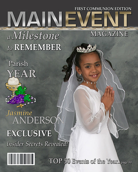 First Communion Announcement Card Templates