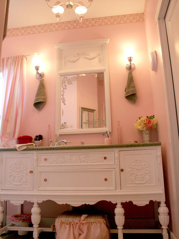 Chic Pink Bathroom 43 Bright And Colorful Design Ideas Digsdigs