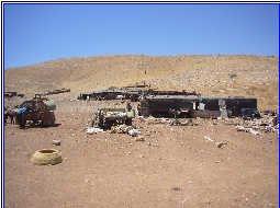 Verdant Arab Palestinian village destroyed by Israel