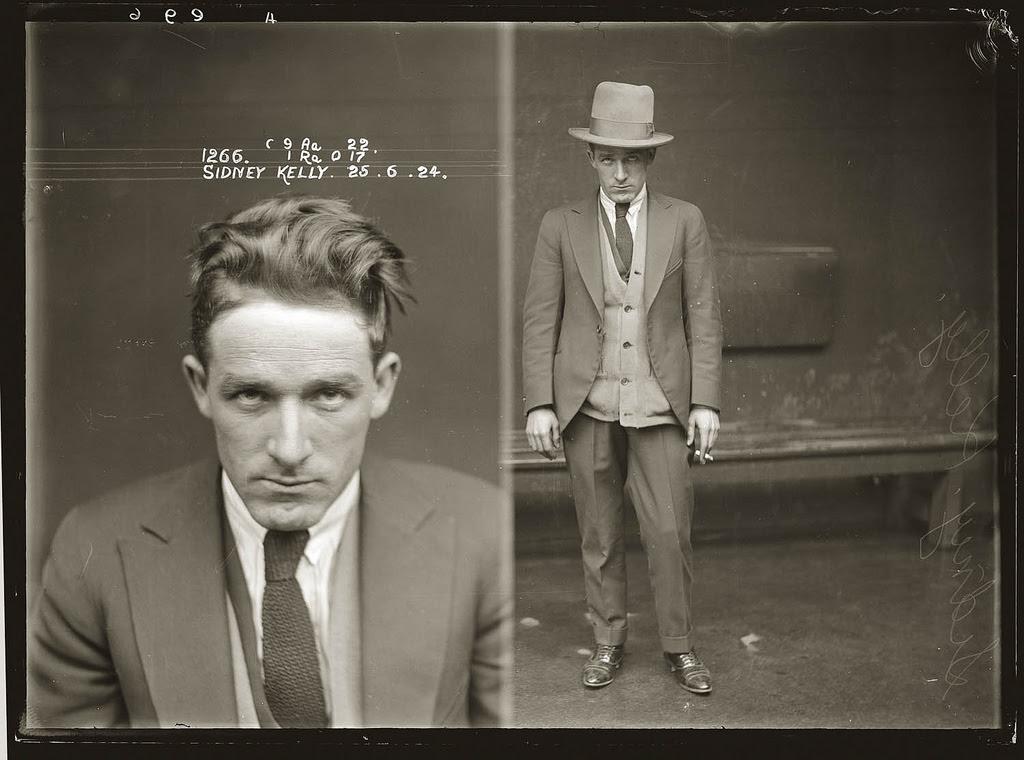 photo police sydney australie mugshot 1920 25 Portraits de criminels australiens dans les années 1920  photo photographie histoire featured art