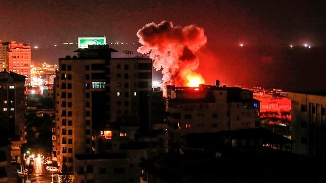 Hamas ataca Israel com  chuva de foguetes