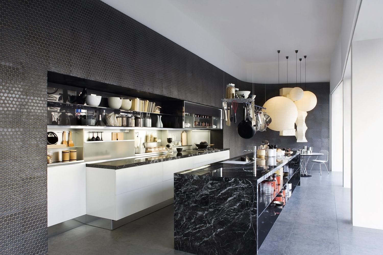 Home Architec Ideas Black Marble Kitchen Ideas