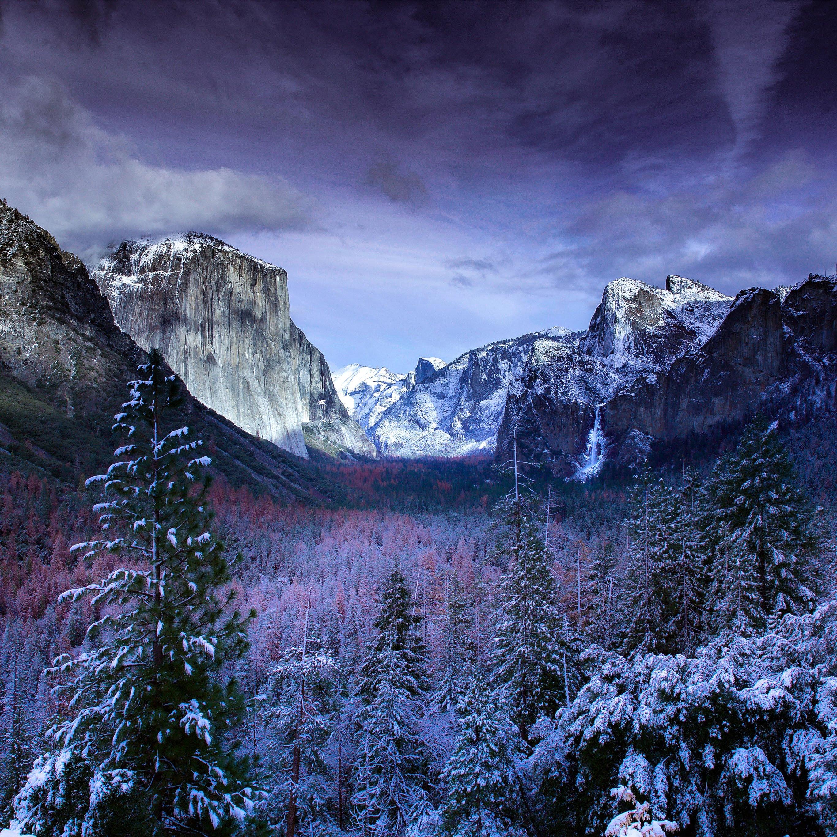 心が落ち着く冬景色の壁紙 Iphone Ipad Mac用 6枚 噂のapple