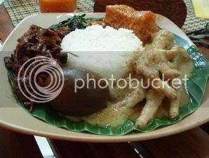 Gudeg dari Yogyakarta