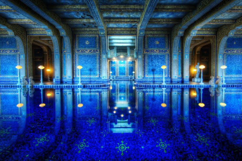 blue-indoor-tiled-roman-pool-hearst-castle