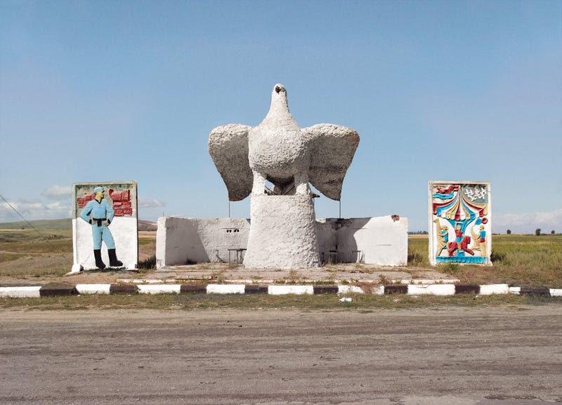 Algunas de las paradas de autobús más extraordinarias de la antigua Unión Soviética