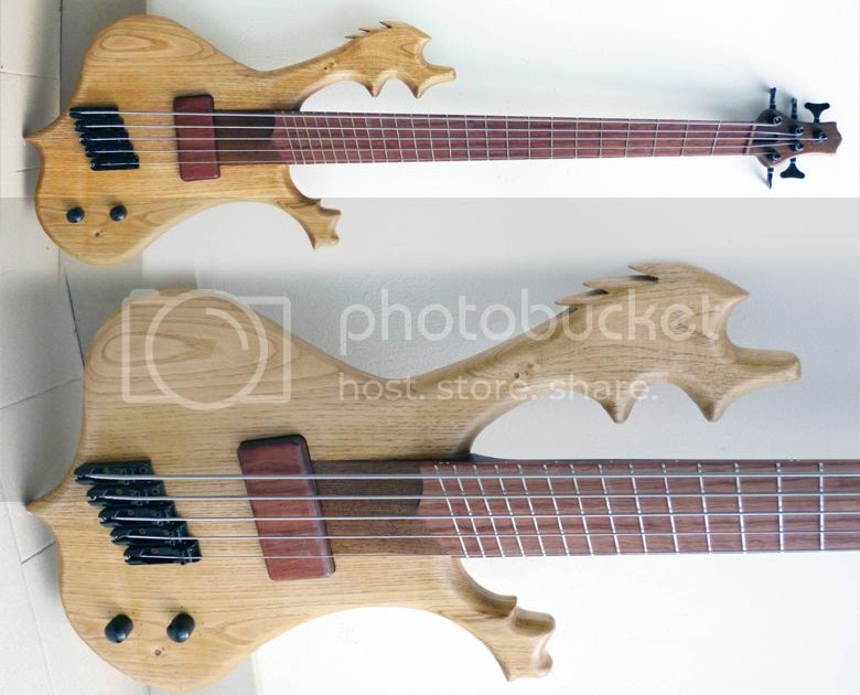guitar blog prometeus mothra multi scale fan fretted 5 string bass with moose antlers. Black Bedroom Furniture Sets. Home Design Ideas