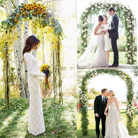 GZYF 7.9 Ft Metal Wedding Arch Garden Arch For Party Prom