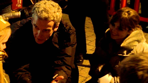 Peter Capaldi Asks Little Girl If Its Okay For Him To Be The Doctor