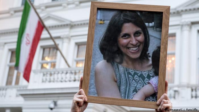 Großbritannien Mahnwache für britisch-iranische Mutter Nazanin Zaghari-Ratcliffe (Getty Images/C.J. Ratcliffe)