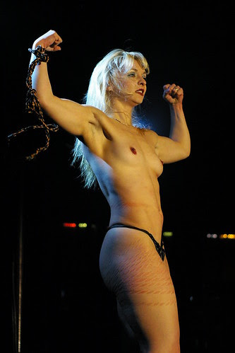 Julie Atlas Muz at Spiegeltent