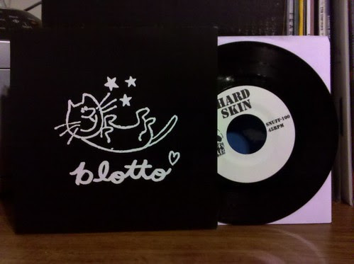 "Blotto / Hard Skin - Split 7"" - Snuffy Smiles # 100!"