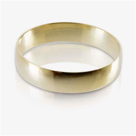 9ct Gold Mens Wedding Ring