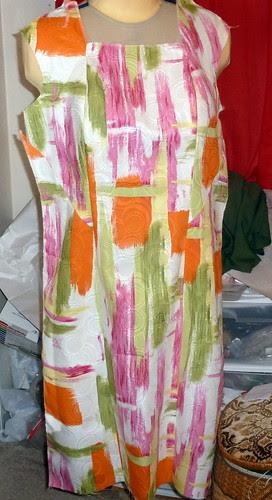 v8799 Dress front by Danvillegirl