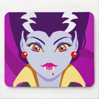 Lady Vampire mousepad