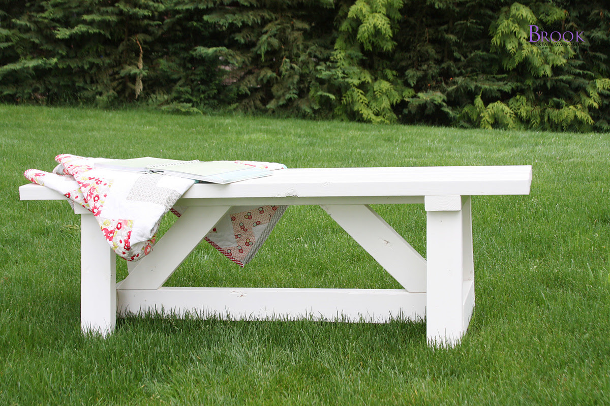 Picture of: Diy Outdoor Furniture Plans Ana White