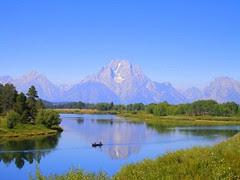 Mt. Moran at Oxbox Bend