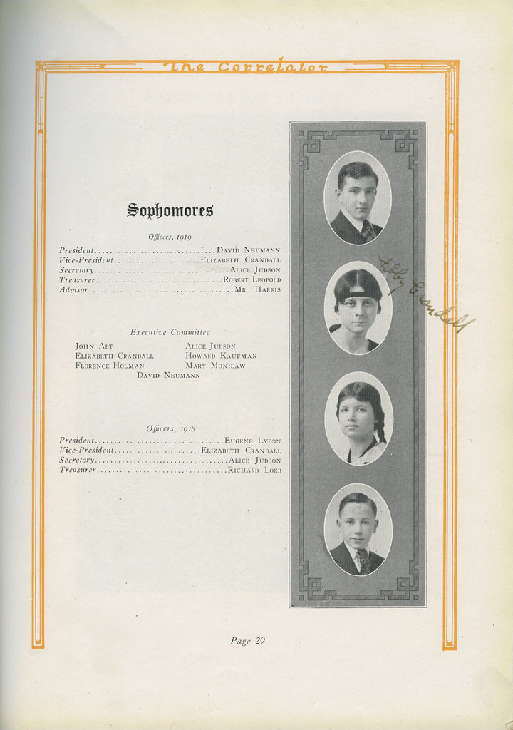 Loeb_treasurer_1919_tatteredandlost